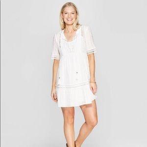 Knox Rose white Cotton Dress